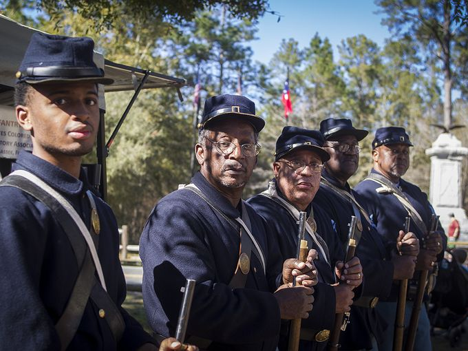 2nd Infantry Regiment United State Colored Troops Living History Association